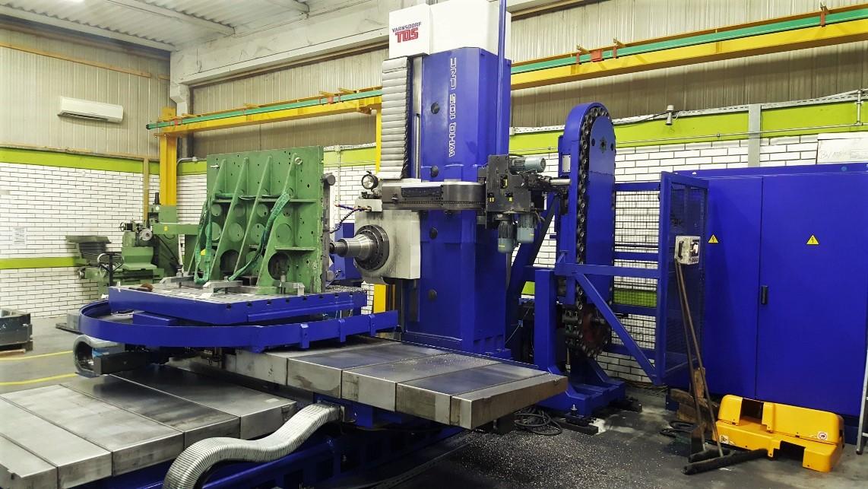 Nov stroj v proizvodnji